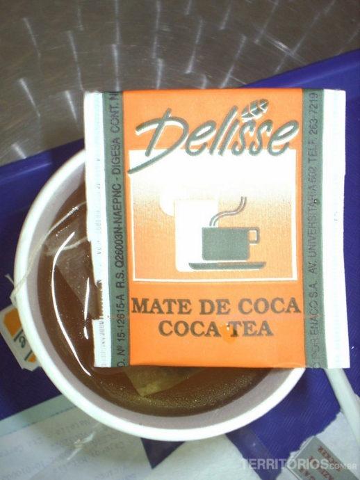 Chá de cocaindustrializado