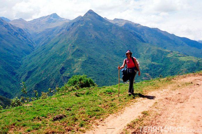 Calor no início da trilha Inca Salkantay