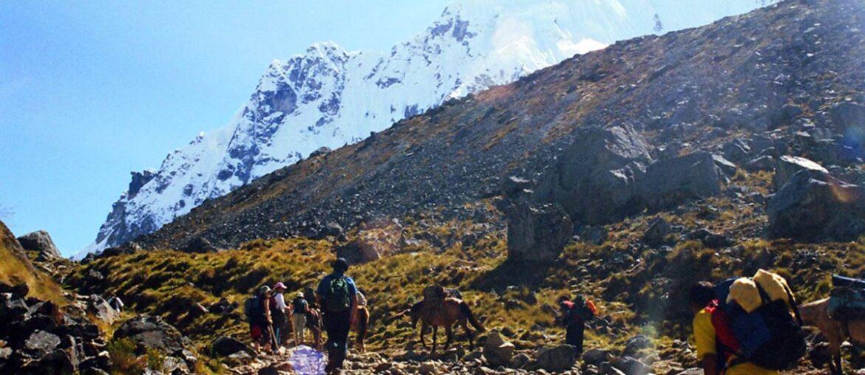Trilha Inca Salkantay, no Peru