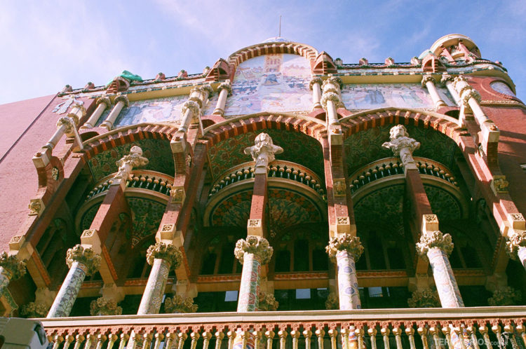 Fachada Palau Musica Catalana