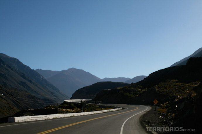 Ruta 7 entre Mendoza e Santiago