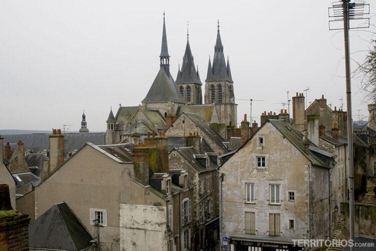 Blois, no Vale do Loire