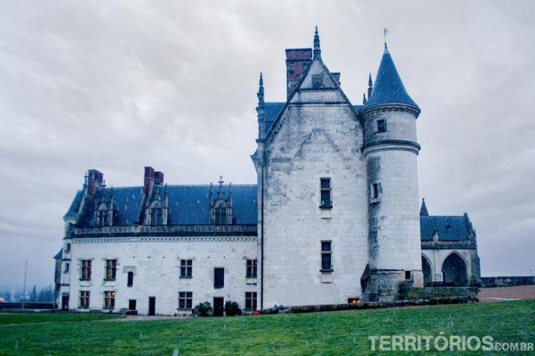 Castelo Amboise, no Vale do Loire