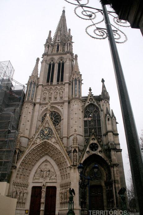 Catedral gótica, Nancy, Lorraine