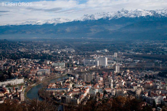 Grenoble vista da Bastille