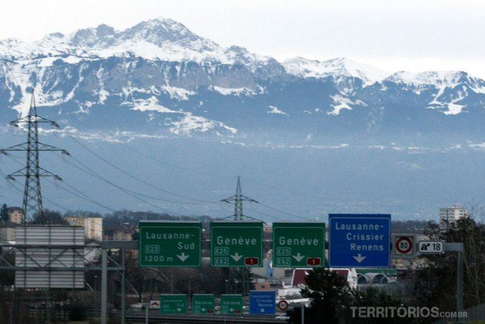 Estradas Suíças