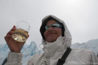 Whisky em Perito Moreno