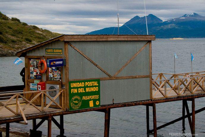 O correio mais austral do mundo fica na Tierra del Fuego