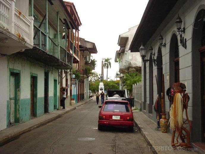 Ruela no distrito históricoRuela no distrito histórico