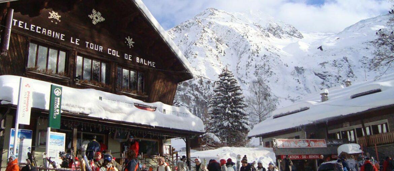 Neve na Europa: Alpes Franceses