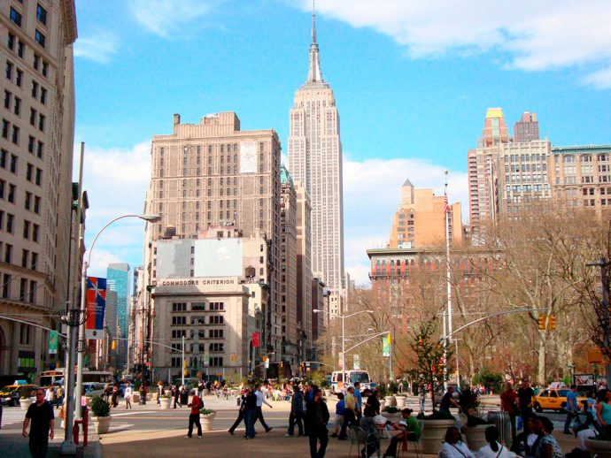 Empire State Building e arredores