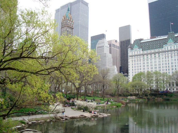 Central Park parada obrigatória em NYC