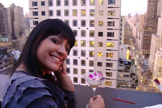 Farrah na Roof Top Party