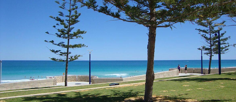praia em Perth