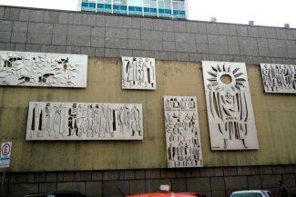 Mural de Vasco Prado na Assembleia