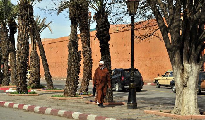 Marrakech com a bagagem