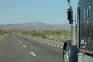 Atravessando a América de Caminhão