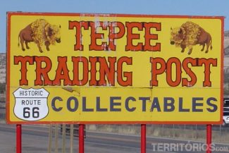 Tepees na Route 66