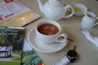Chá quente inglês