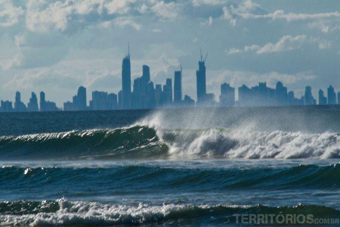 Vista de Surfers Paradise