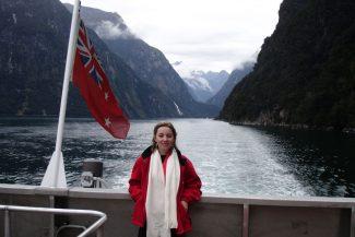 Vanessa em Mildford Sound