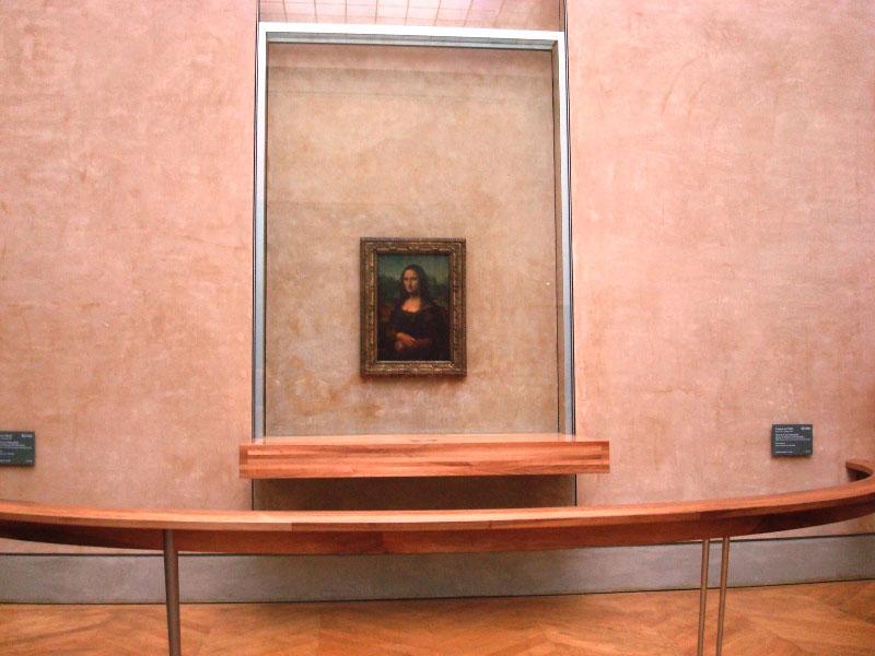 A Monalisa, de Leonardo da Vinci em Paris