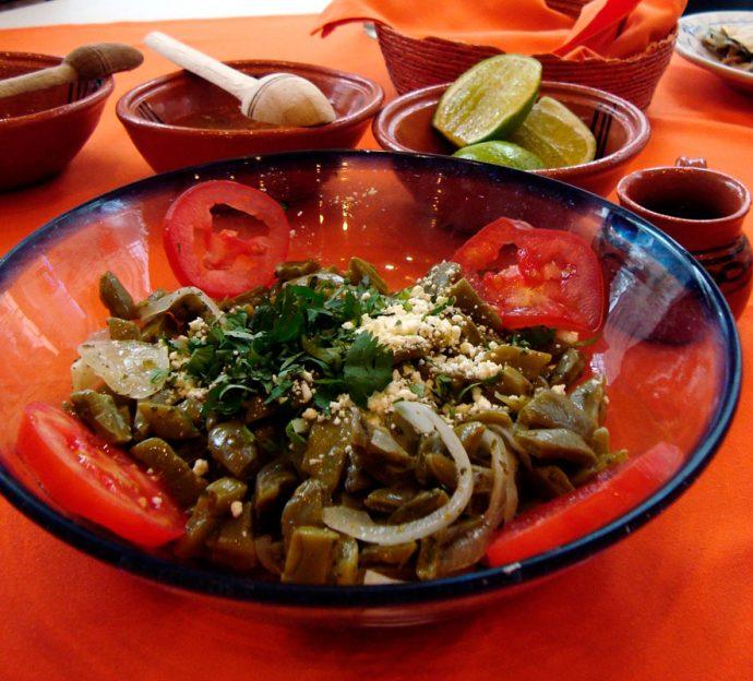 Salada de cactus