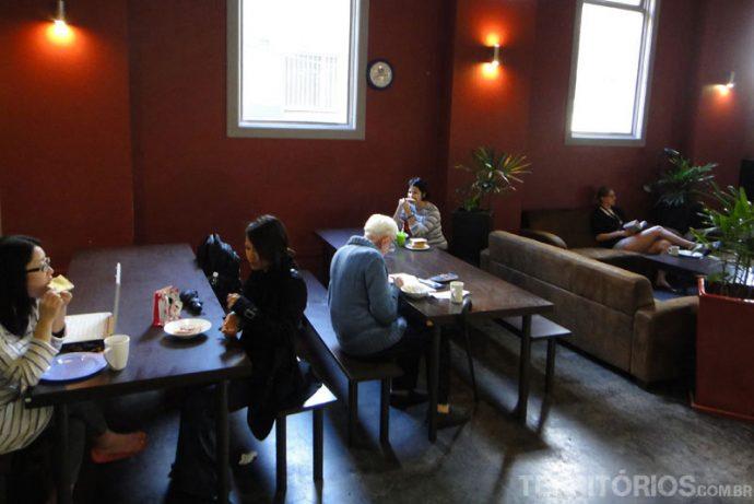 Lounge do hostel