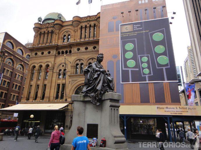 Queen Victoria Building, no centro de Sydney