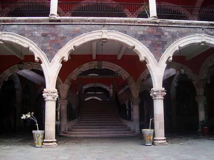 Interior do Palácio do Governo