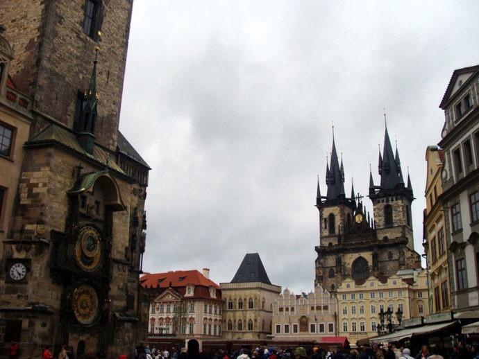 Praça da Cidade Antiga em Praga