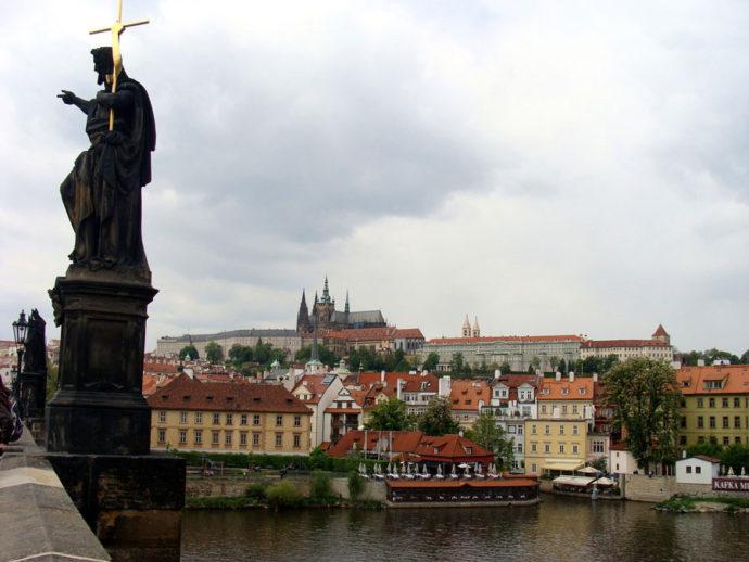 Vista para o Castelo de Praga