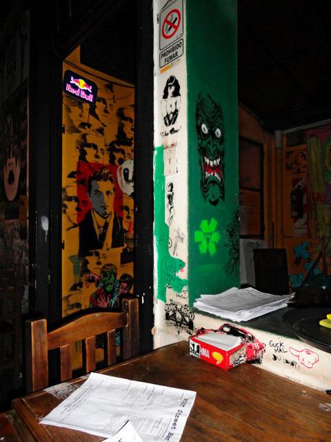 Post Street Bar por dentro