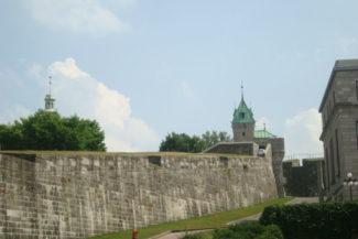 Parte das muralhas