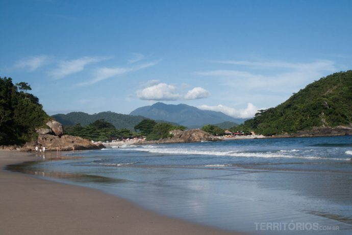 Vista para a Praia do Meio