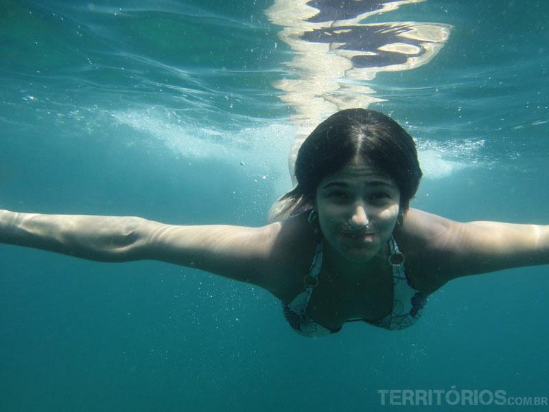 Meu delicioso mergulho em Paraty