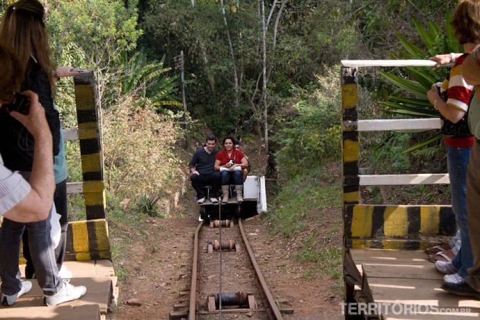 Voltando no trolley