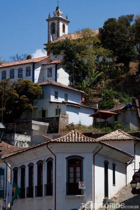 Matriz N. S. do Pilar no alto