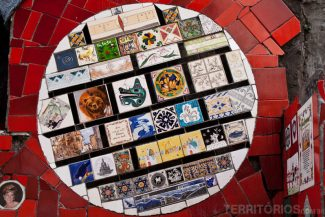 Detalhes nos azulejos