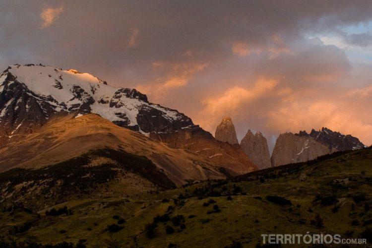 amanhecer em Torres del Paine
