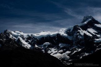 Paisagem do Circuito W Torres del Paine