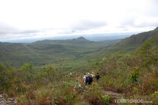 O fim do trekking no Vale do Pati