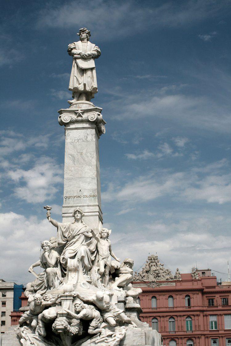 Cristovão Colombo no Parque Cólon, Buenos Aires - Argentina