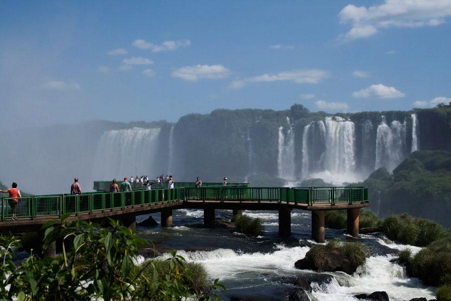 Cataratas do lado brasileiro