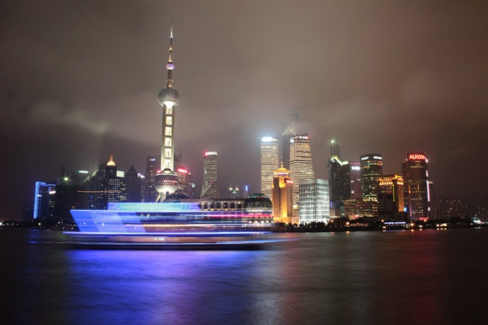 skyline de Shangai
