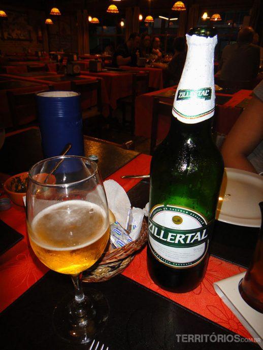 Cerveja argentina Zillertal