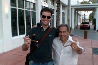 Com meu amigo Jesus em South Beach, Miami