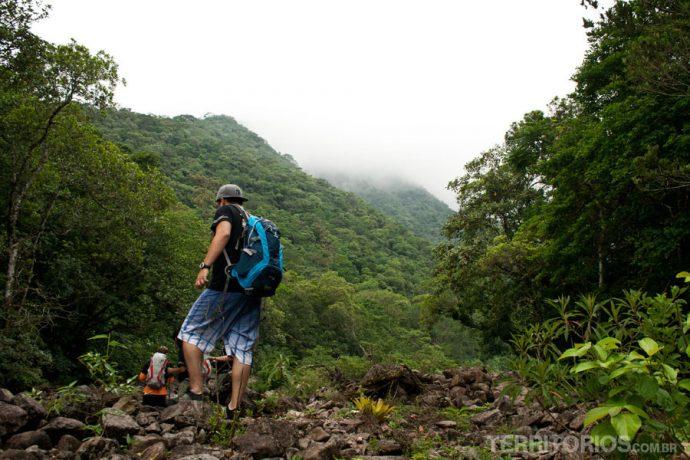 Rodeados por verde e clima úmido no Malacara