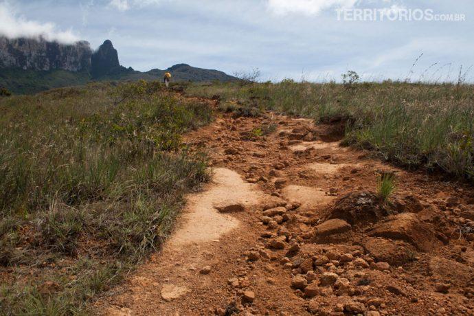 A trilha menos seca