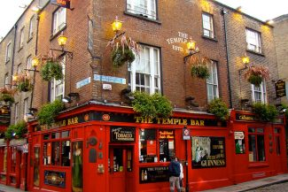 Temple bar, em Dublin